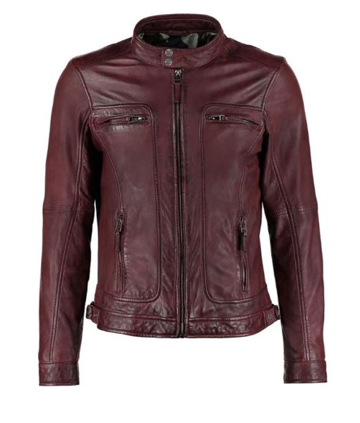 mens-burgundy-waxed-leather-jacket