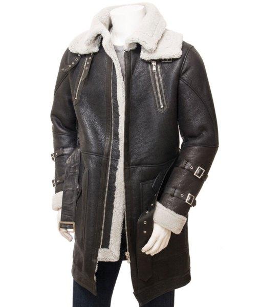 mens-dark-brown-shearling-leather-coat
