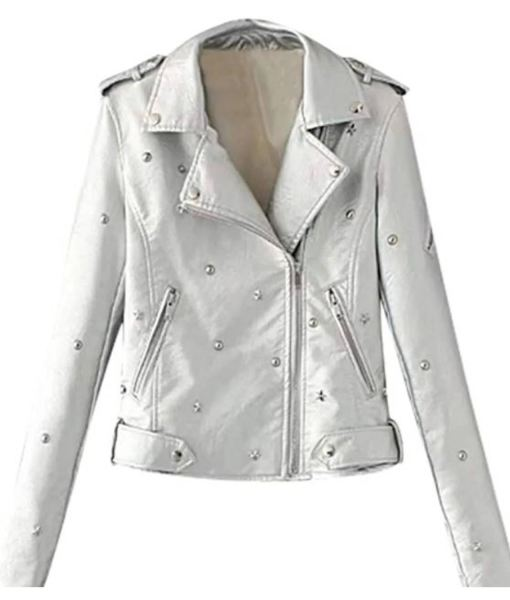 womens-studded-silver-leather-jacket