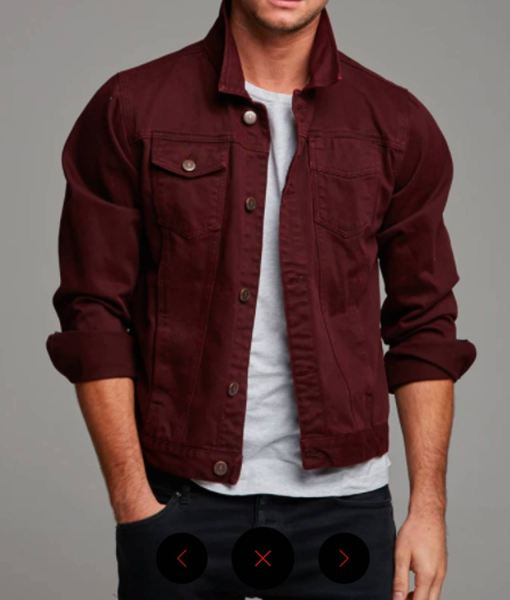 mens-denim-burgundy-jacket