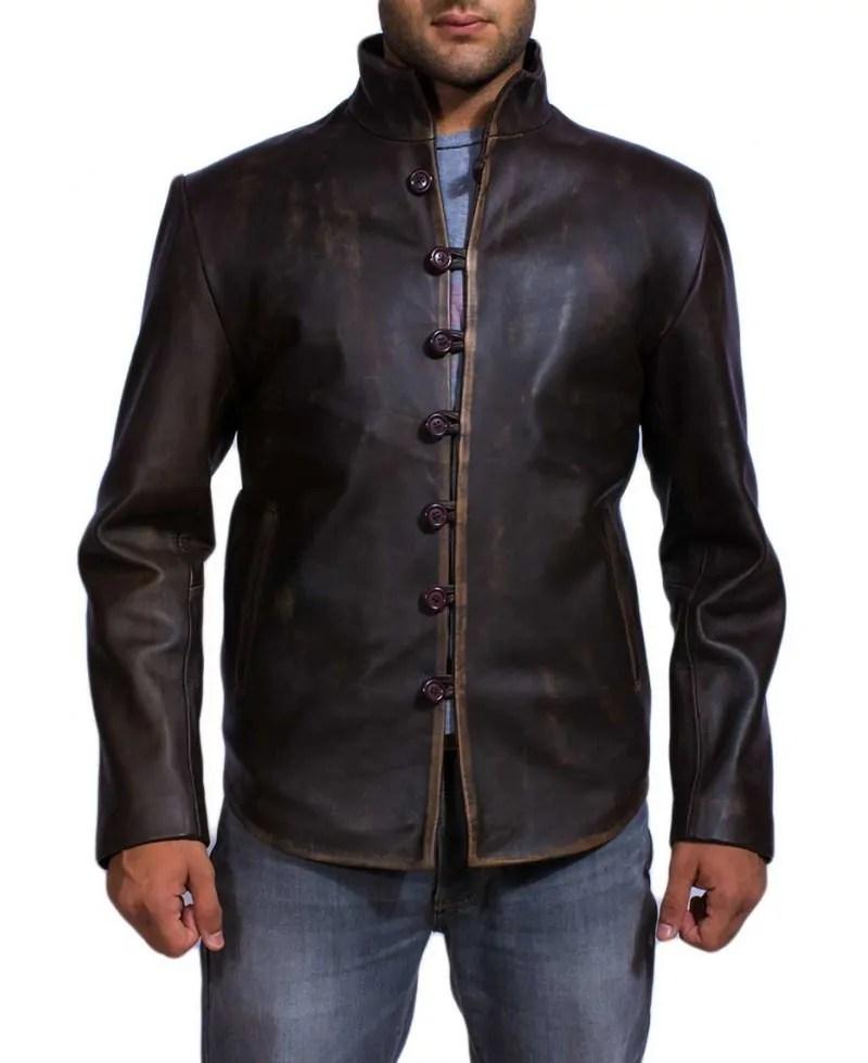 Vintage Brown Leather Jacket – Jackets Maker