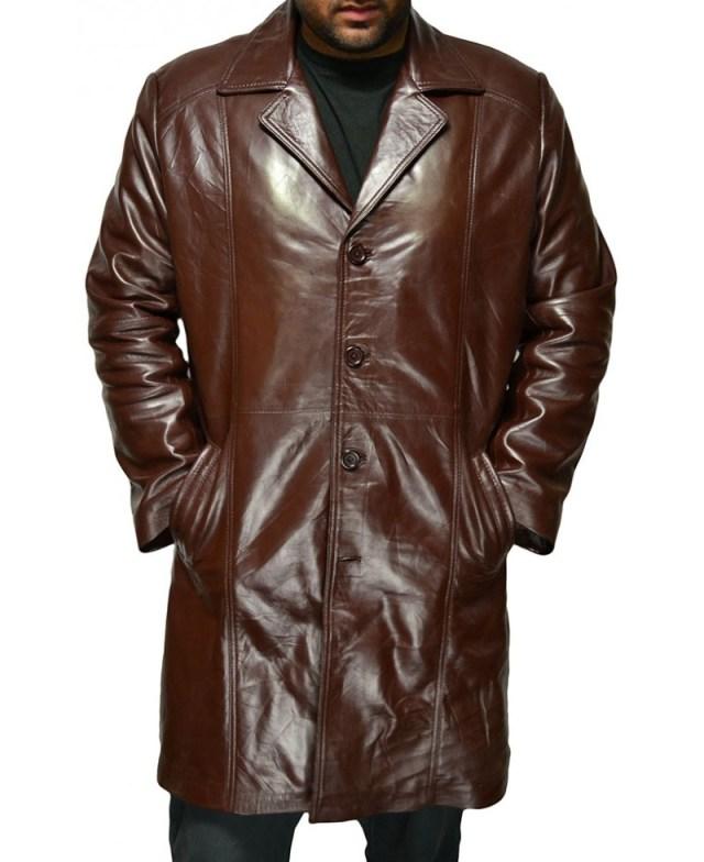 Men's Fashion Brown Long Coat – Jackets Maker