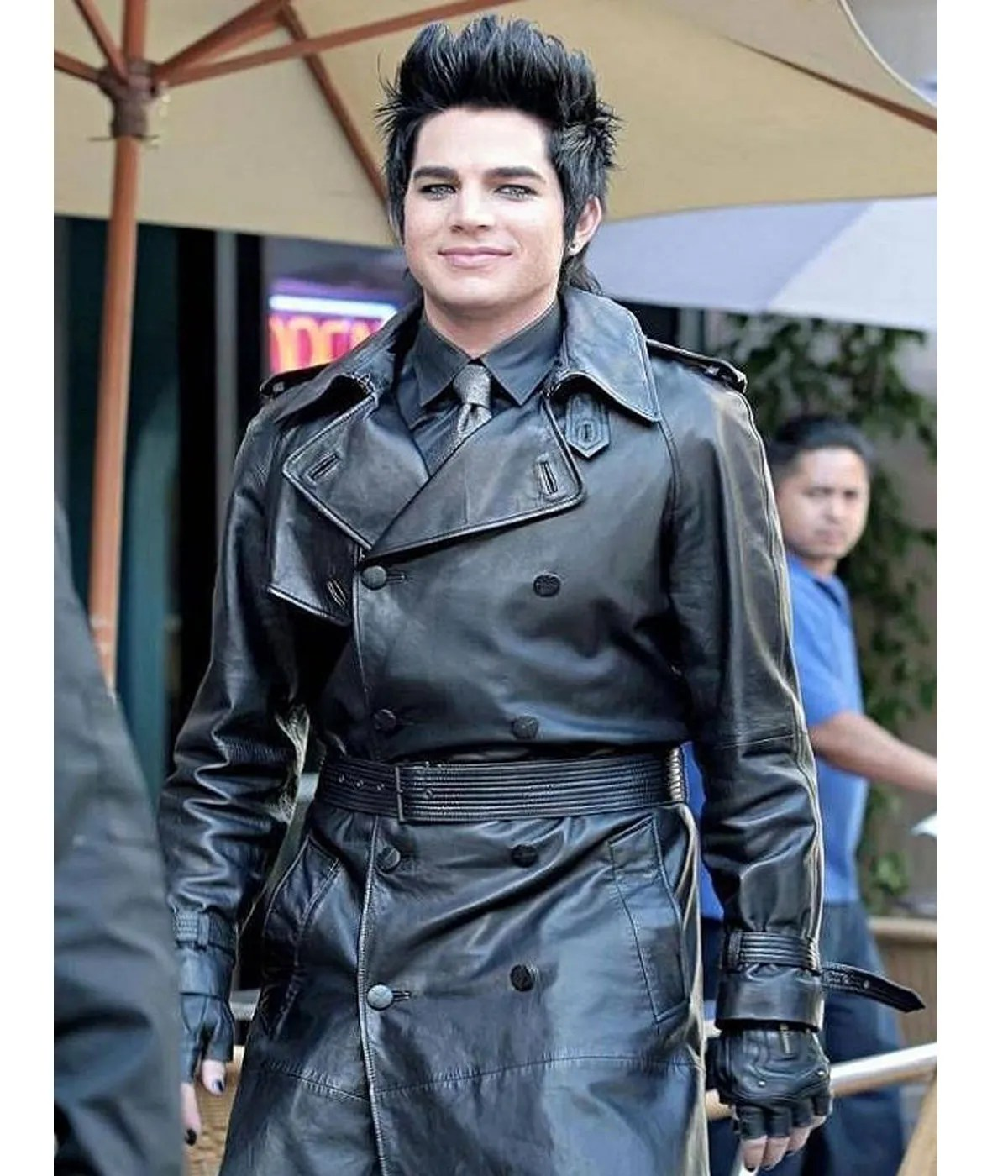 adam-lambert-leather-coat