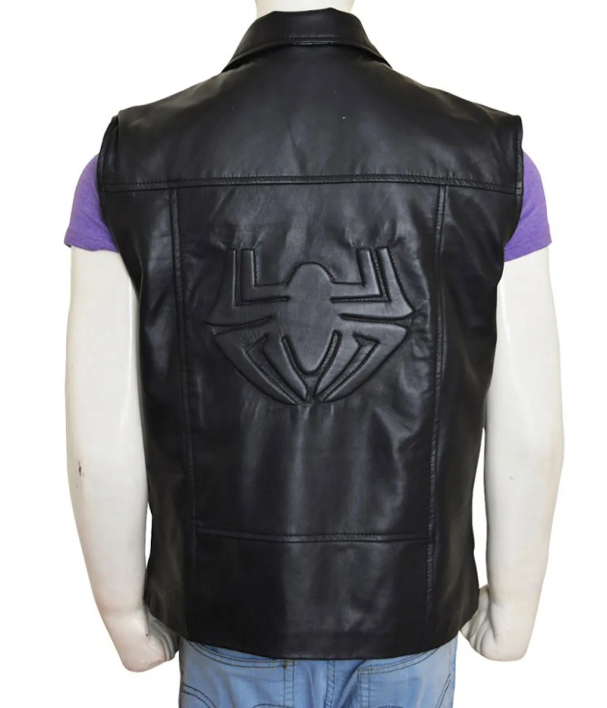 double-breasted-spiderman-noir-black-leather-vest