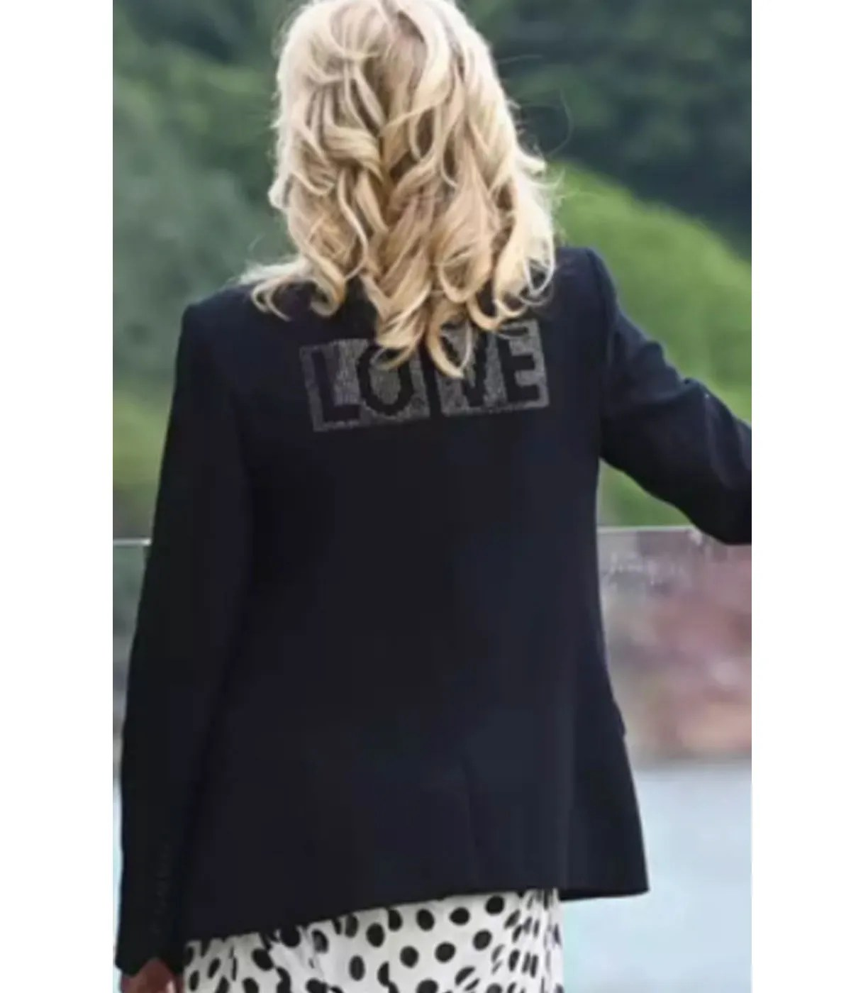 superman-and-lois-love-jill-biden-jacket