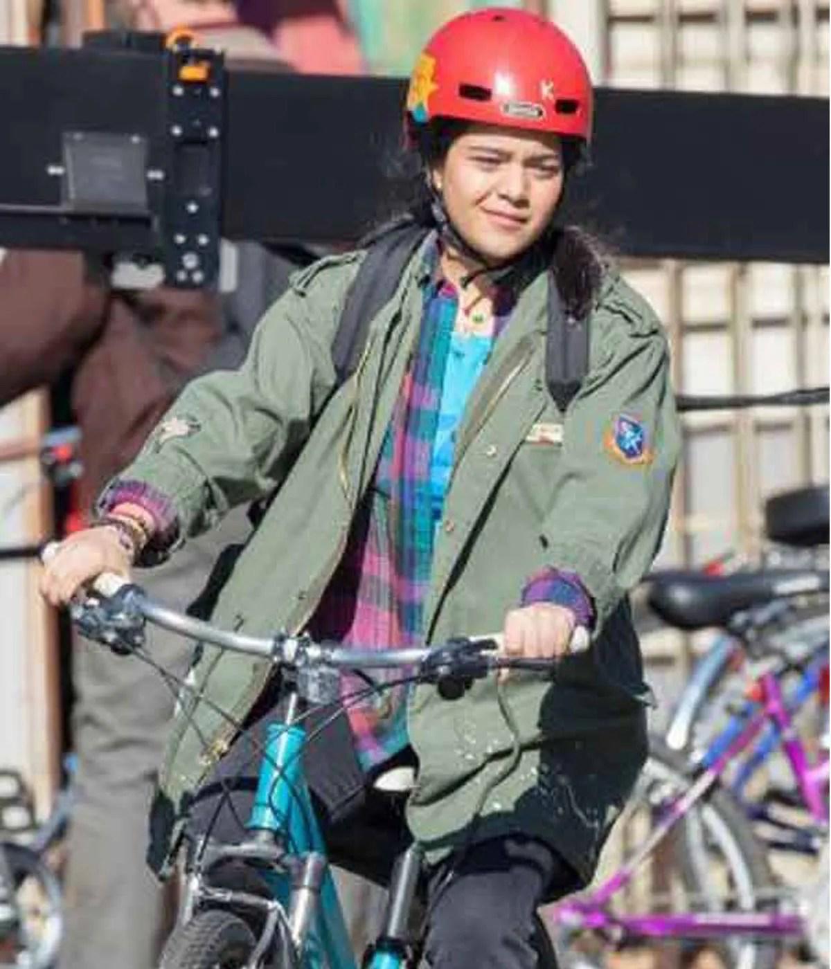 kamala-khan-green-jacket