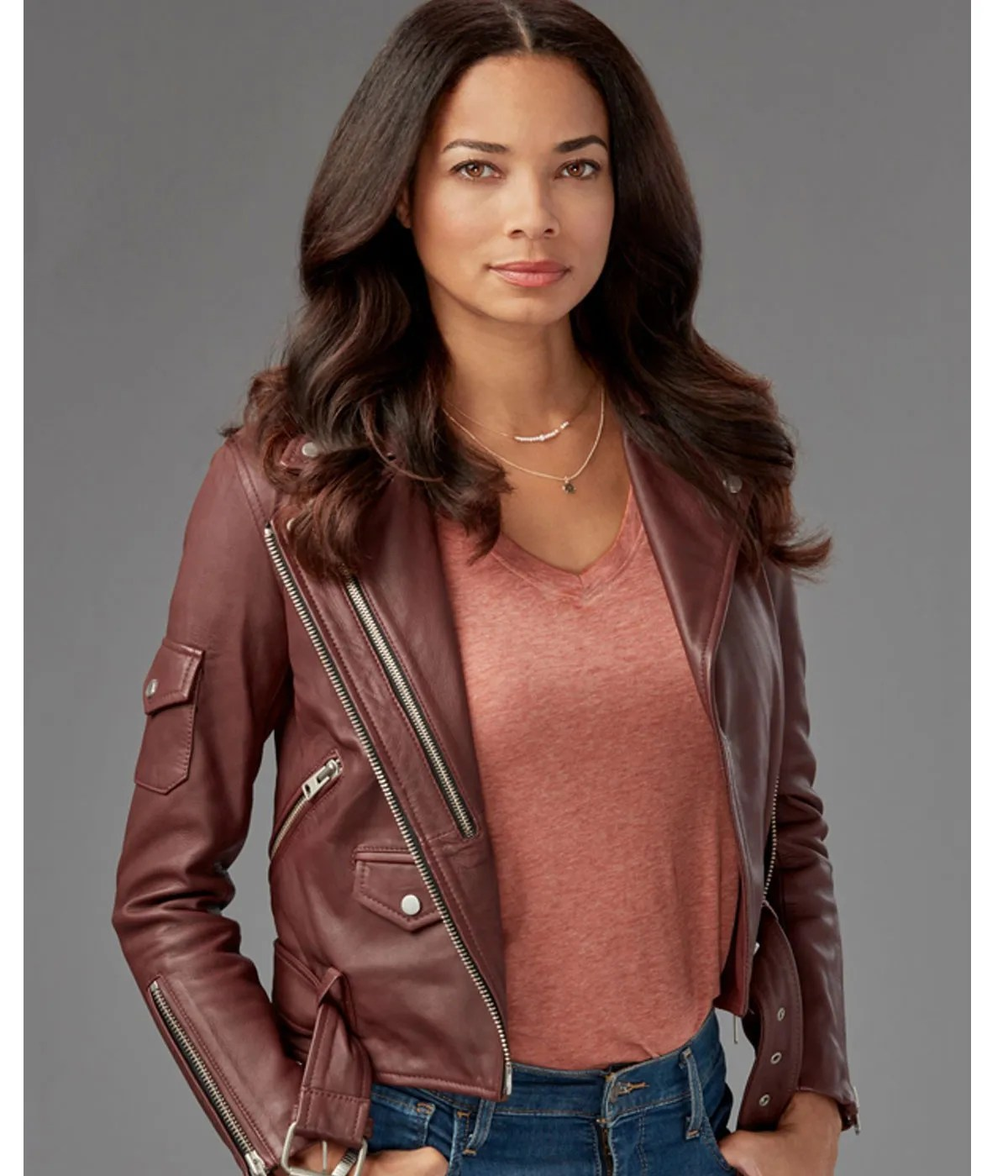 rochelle-aytes-redemption-in-cherry-springs-leather-jacket