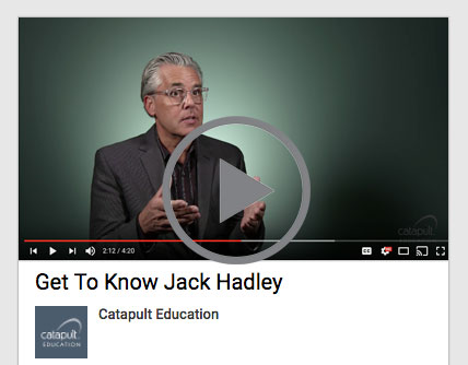 Jack Hadley Catapult Education