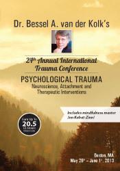 Dr. Bessel van der Kolk's 24th Annual International Trauma ...