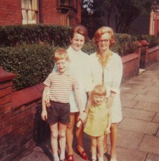 Mike, Sister, Mum and Nana