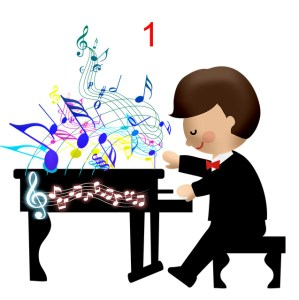 piano for kids one