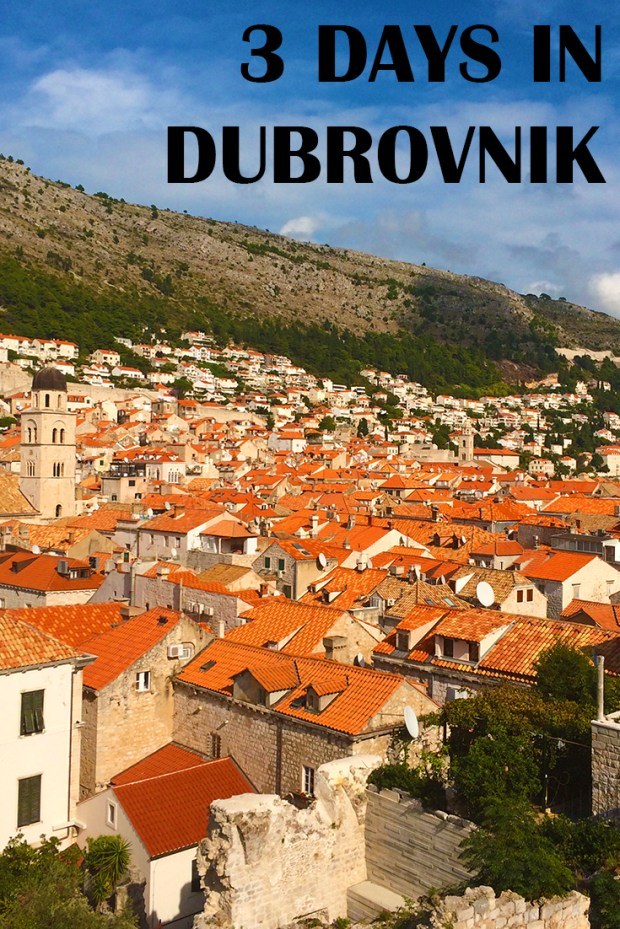 3 days in Dubrovnik, Croatia | A useful itinerary for what to see & do in Dubrovnik, Croatia | Jackie Jets Off