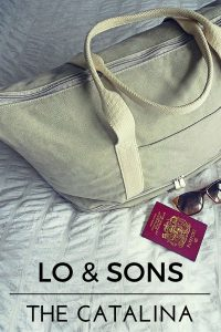 Lo & Sons The Catalina Weekender Bag | Review by Jackie Jets Off | Looking for the perfect weekender bag for a quick getaway? Meet The Catalina.