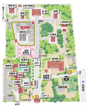 増上寺マップ