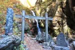 御嶽神社滝