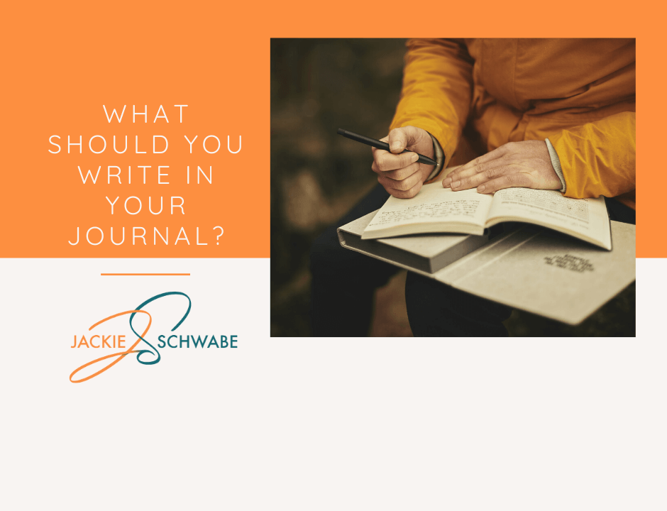 What Should You Write in Your Journal