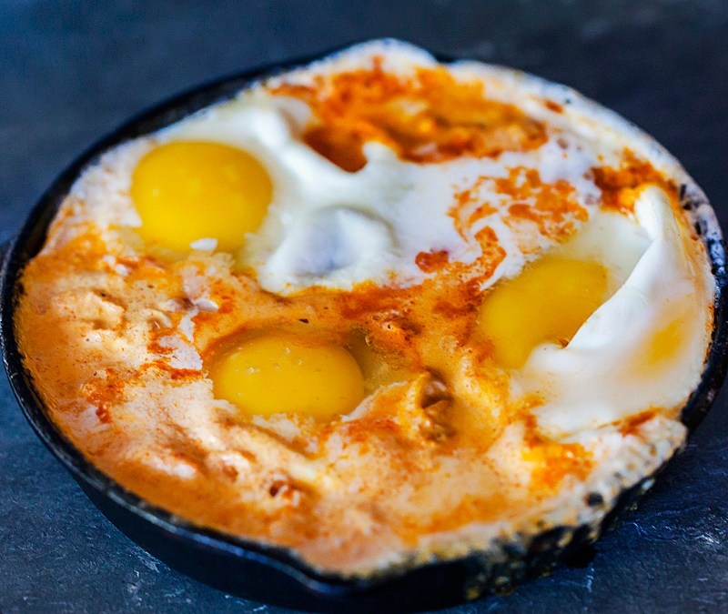 Mexican Shakshuka: Eggs Simmered in Tomato Crema