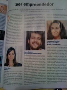 Jaqueline na Revista Exame