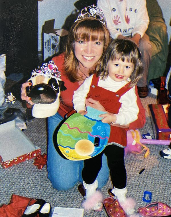Jackie Trottmann and niece Katie