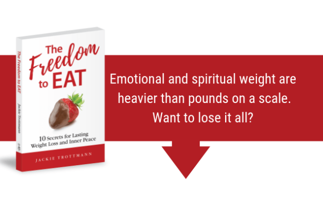 Emotional and Spiritual Weight are Heavier than Pounds on a Scale. Want to lose it all?