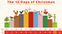 The 12 Days of Data Presentation