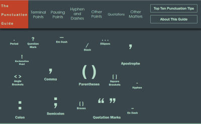The Punctuation Guide