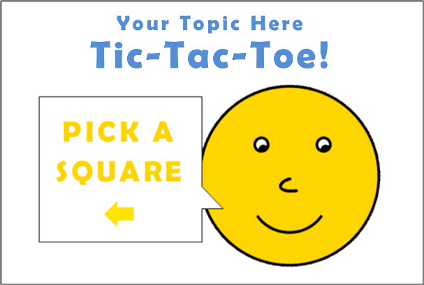 Free Tic-Tac-Toe Template in Storyline 2!