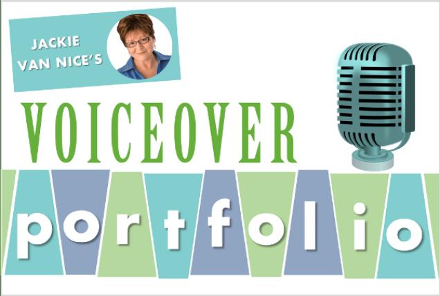 Jackie's Voiceover Portfolio