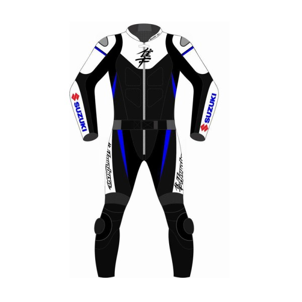404d1b8428835 Suzuki Hayabusa Motorcycle Leather Suit