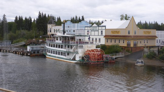 Riverboat Discovery trip down the Chena River