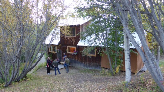 Our lodge for the two night stay in Telegraph Creek.  Warm and comfortable.