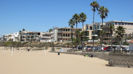 Foreshore at Manhattan Beach in Los Angeles