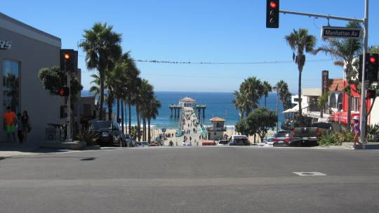 Historic pier at Manhattan Beach