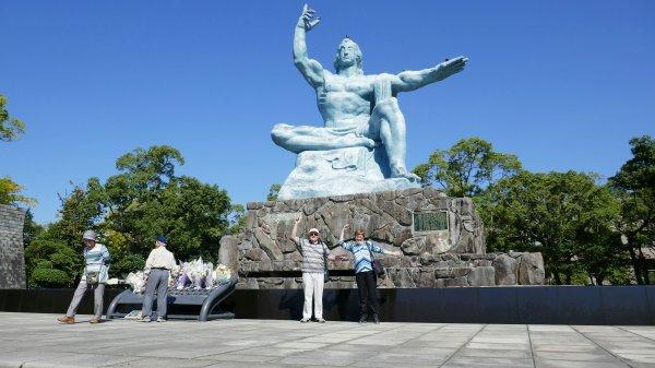 Statue in Peace Park