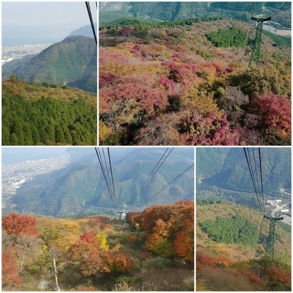 Beppu Ropeway to 1300 meters above sea level