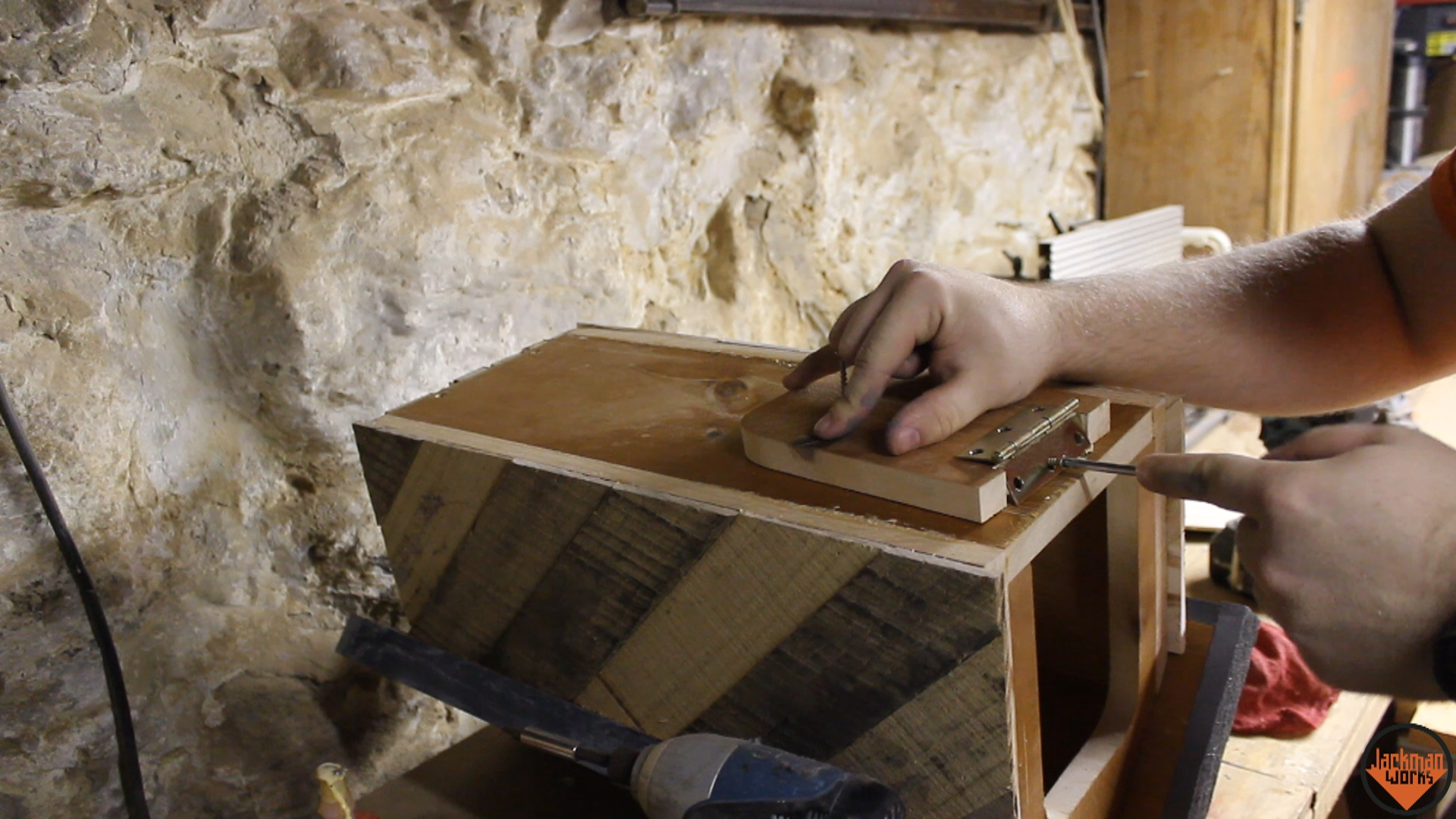 Wood mailbox 18 jackman works jackmanjackman worksjackman carpentrycarpentrywoodworkingwooddiydo it yourselfbuildingmakingdesignupcycledrecycledreclaimedhow to make a solutioingenieria Images