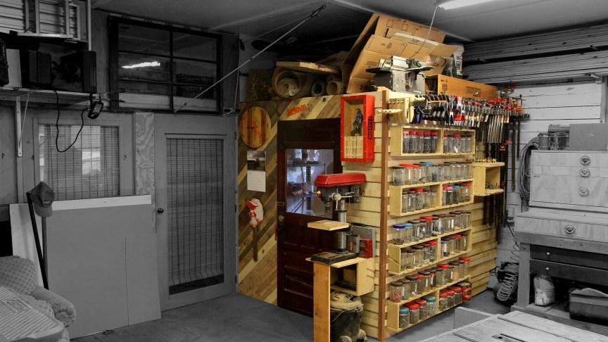 French Cleat Shop Storage Wall Amp Loft Jackman Works