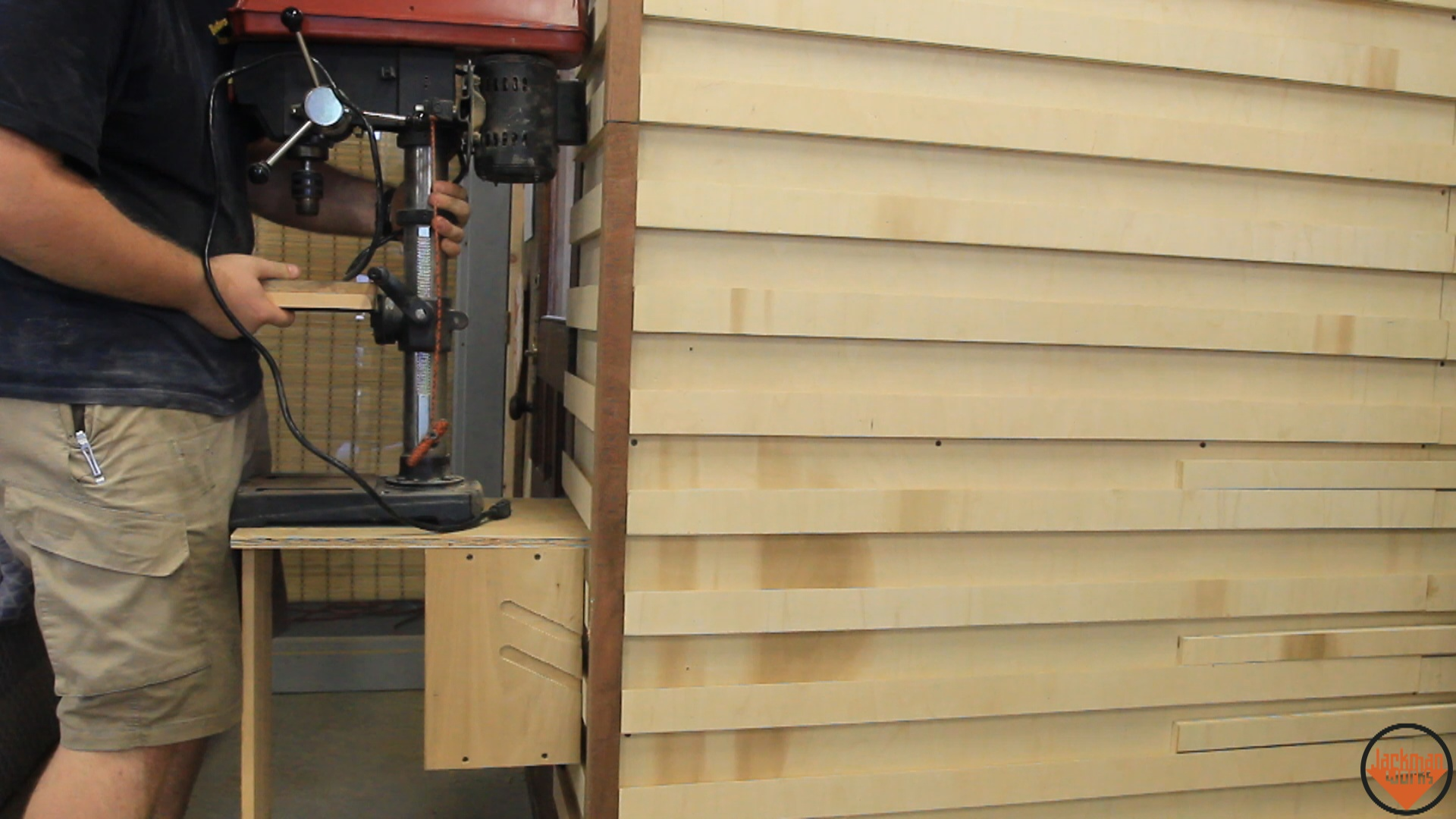 french cleat wall loft 29 | Jackman Works