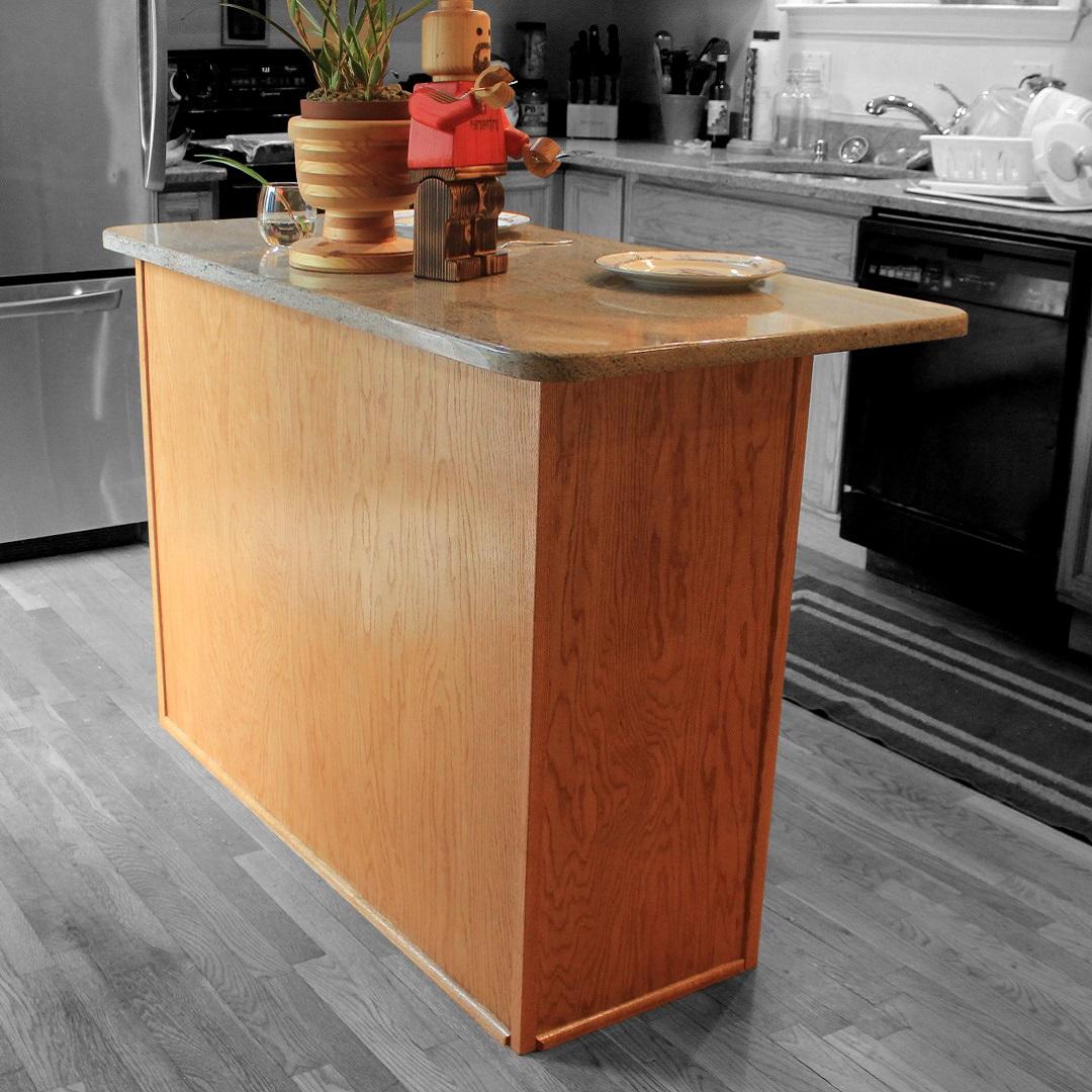 Simple Kitchen Island Build