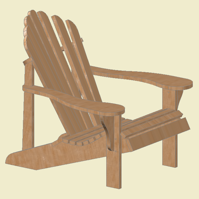 Building a GIANT Adirondack Chair & Building a GIANT Adirondack Chair u2013 Jackman Works