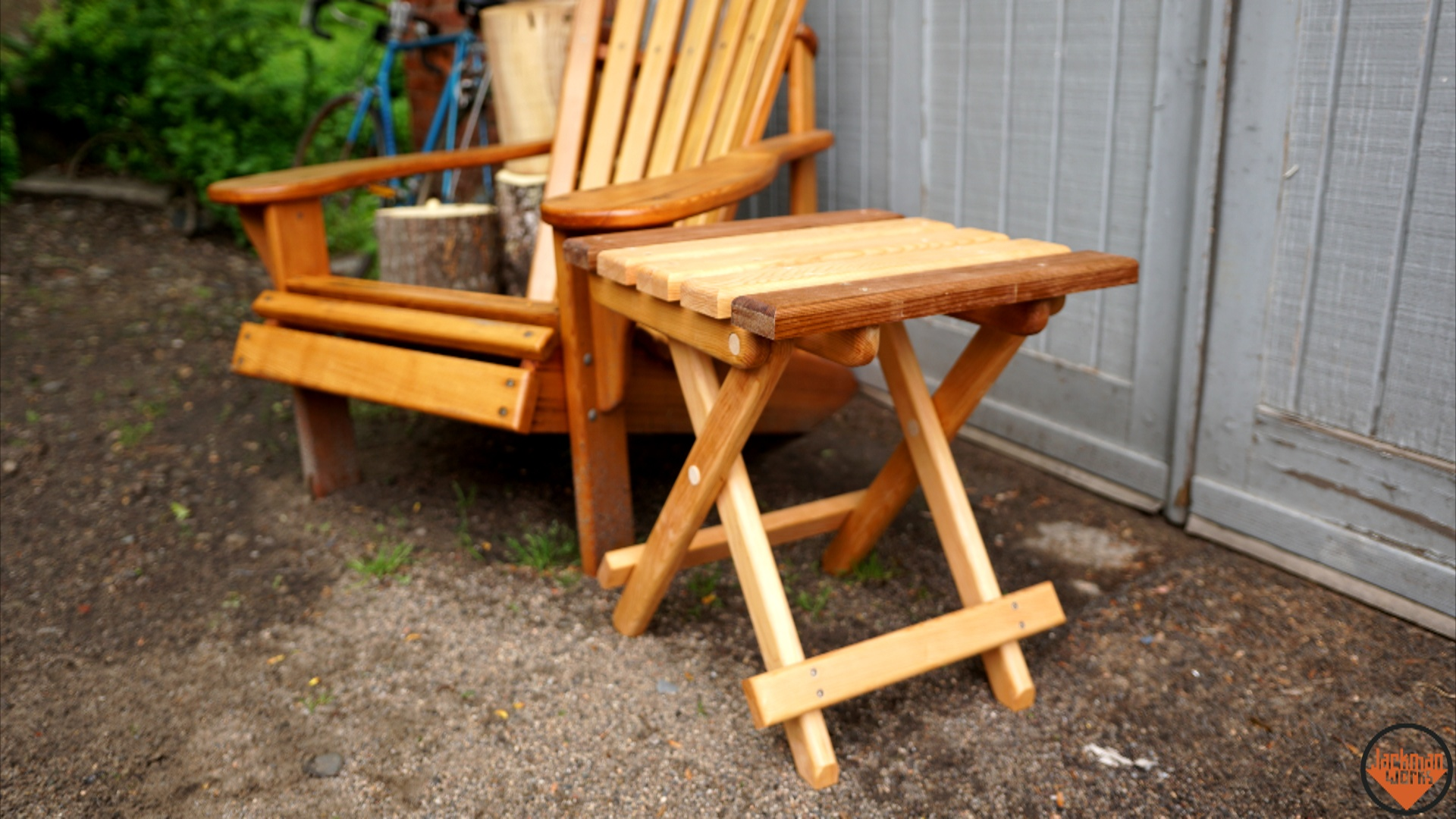 Collapsible Folding Adirondack Table 21 Jackman Works