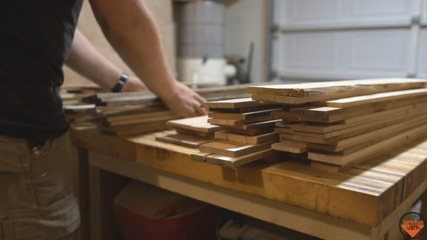 100 Pallet Wood Shot Glasses Jackman Works