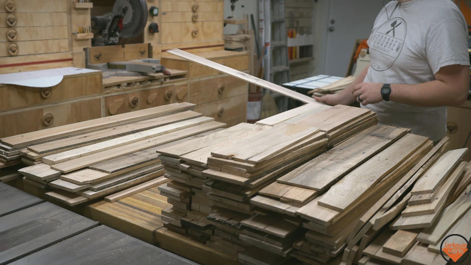 pallet wood end grain coasters 4   Jackman Works