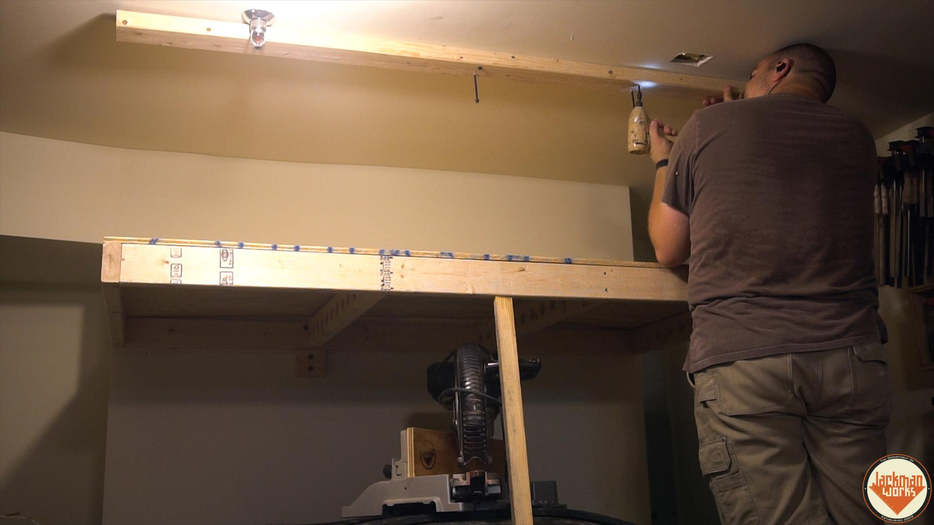 Diy Garage Shelves Plans Build Garage Storage Build Garage Storage