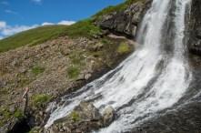 Jan vs waterfall!