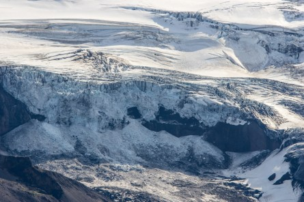 rumbling glacier