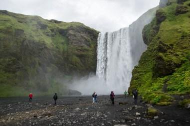 Skogar waterfall