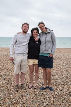 Jonas, Nina and Evy