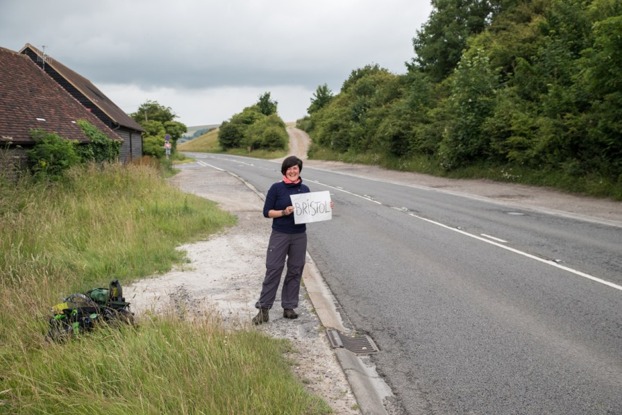 First hitchhiking experience