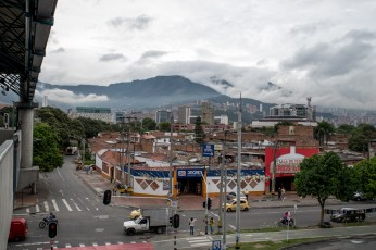Medellin surrounded by the Andes